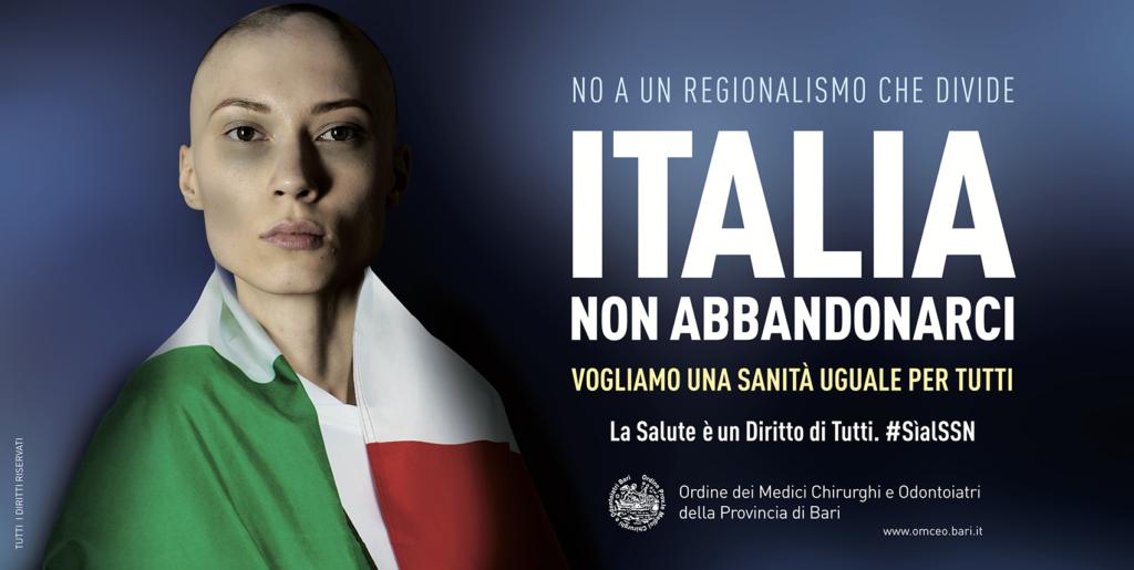 Italia non abbandonarci - Campagna